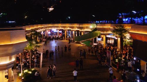 大同坊下沉式广场