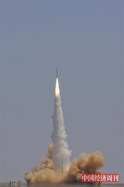 p22 北京星际荣耀空间科技有限澳客彩票平台APP公司双曲线一号遥一长安欧尚号运载火箭,在中国酒泉卫星发射中心成功发射。《澳客彩票平台APP》首席摄影记者  肖翊  摄