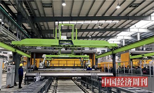 p57中联重科智能化生产线 《中国经济周刊》记者李永华I摄