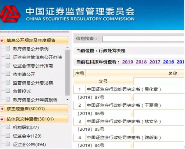 截图来源:中国证监会官网