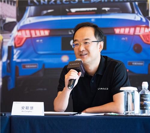 吉利控股集团总裁、吉利汽车集团总裁、CEO 安聪慧