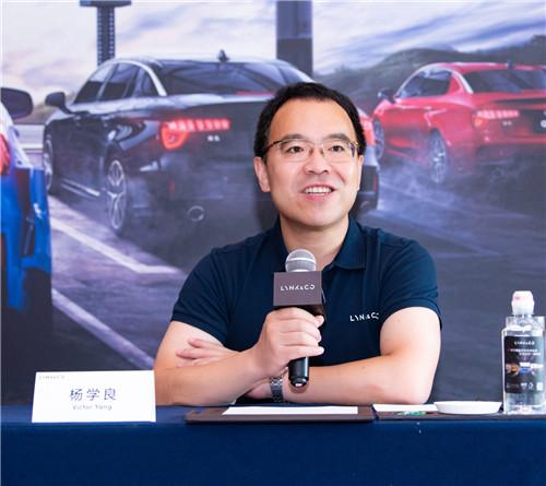 吉利汽车集团副总裁  杨学良