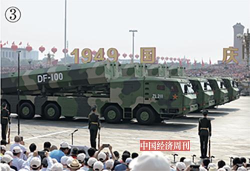 p58-3长剑-100超音速巡航导弹首次亮相阅兵。这是我国长剑系列最新型号,属于超音速巡航导弹,精度高、射程远、反应速度快。