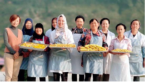 碧桂园产业扶贫项目——甘肃东乡花馃馃和当地返乡创业青年