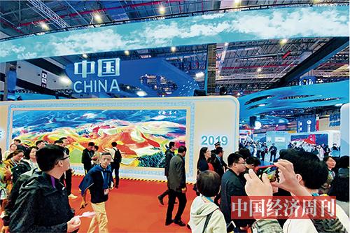 p21 中国馆人气爆棚《中国经济周刊》记者 宋杰I 摄