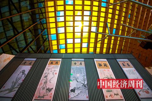 """P80北京世园会中国馆""""屋顶的黄色玻璃""""实际是龙焱能源的太阳能电池"""