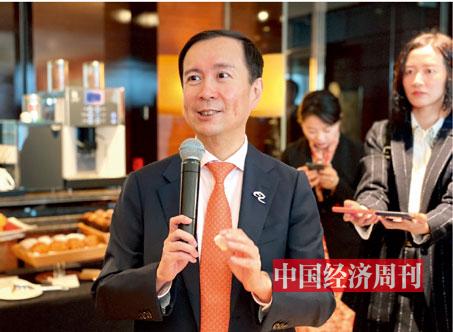 P51张勇接受采访《中国经济周刊》记者 孙冰I 摄