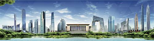 p25 中國上海中心、港珠澳大橋口岸旅檢大樓,美國加州政府大廈、日本東京郵政大廈等國內外著名標志性建筑都在使用堅美鋁材。