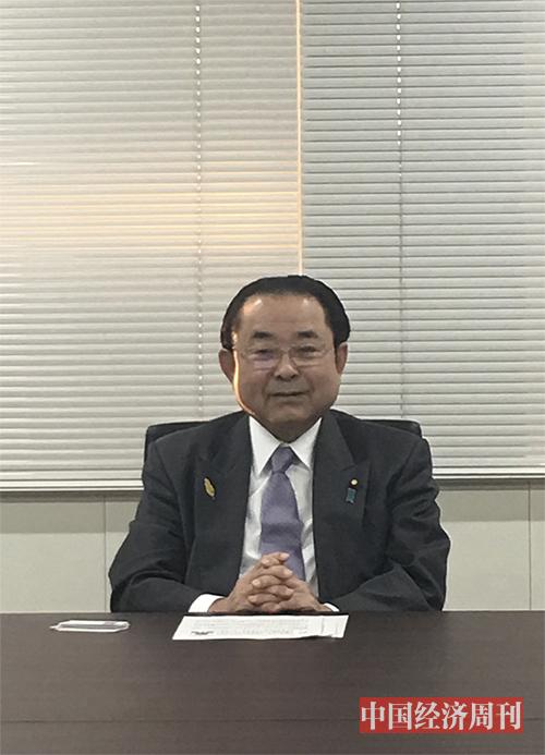 p101 田中和德接受采訪《 中國經濟周刊》記者 郭芳   攝