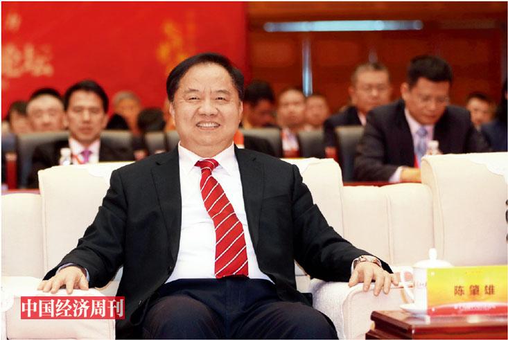p008 工业和信息化部副部长陈肇雄在论坛现场
