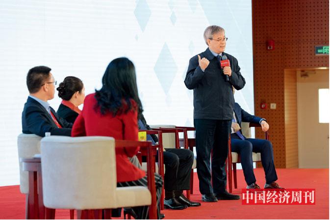 P10 中控科技集團創始人褚健在論壇現場