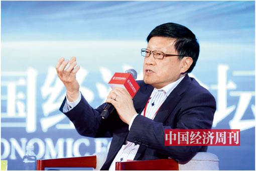 P12 交通银行首席经济学家连平出席论坛