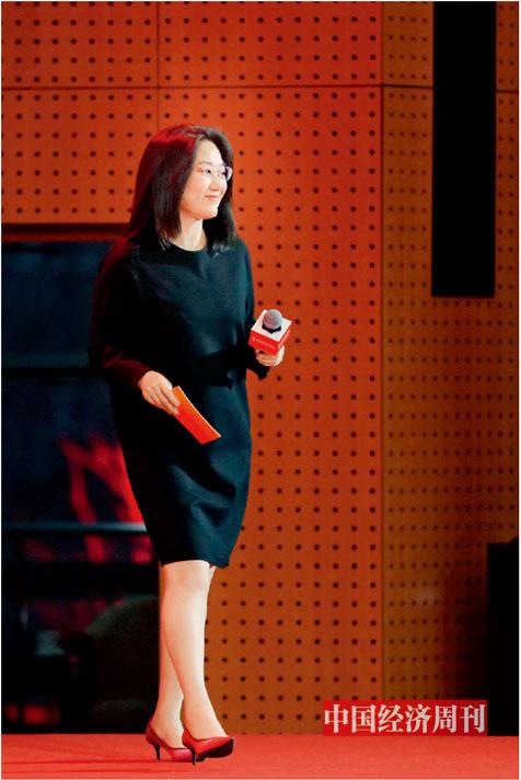 P13 中國經濟周刊副總編輯楊眉在論壇現場