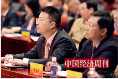 P014 騰訊金融研究院副院長韓開創、三峽人壽保險股份有限公司董事長黎已銘在論壇現場
