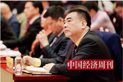 P15 广东坚美铝业集团行政总经理刘建辉在论坛现场