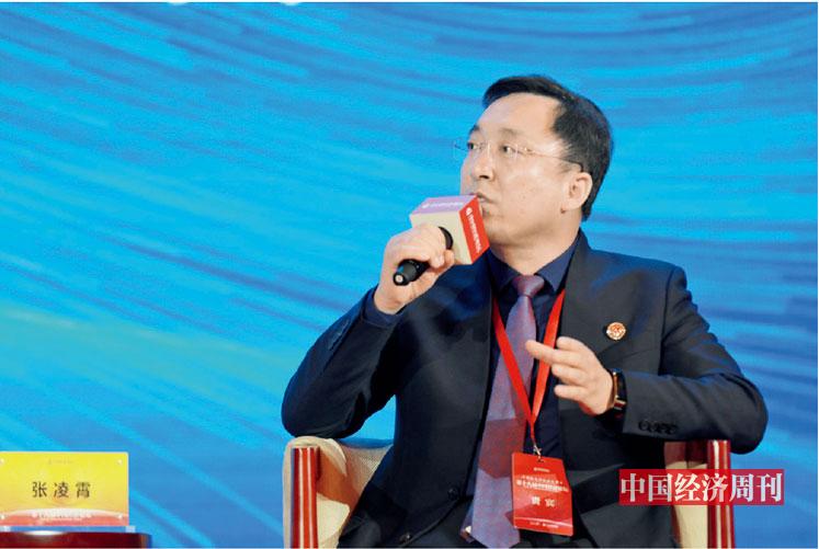 """p097 张凌霄在第十八届中国经济论坛上参加""""优化营商环境 助力企业发展""""分论坛"""