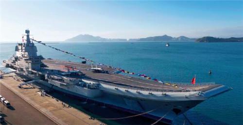 p12-3 2019 年12 月17 日,我国第一艘国产航空母舰山东舰在海南三亚某军港交付海军。