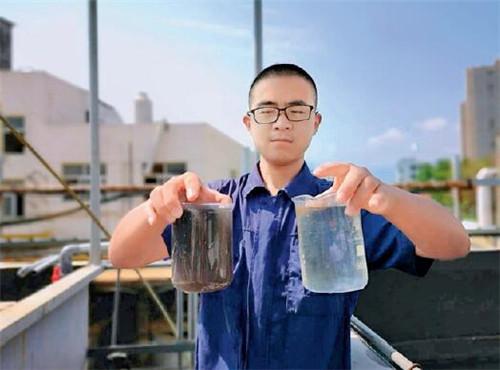p64-浙江金華的中廣核電子束處理工業廢水示范項目現場