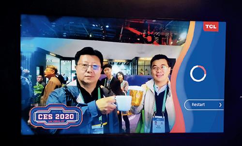 p99-1CES 展會的中國元素永遠是亮點之一。今年有聯想、華為、TCL、康佳、創維、大疆等企業參展。