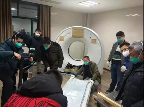 大型設備送到醫院后還需要安裝調試和培訓醫務人員使用