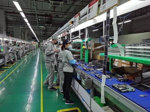 联想深圳工厂