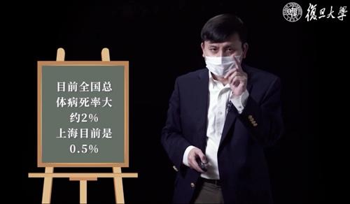 張文宏談新冠肺炎