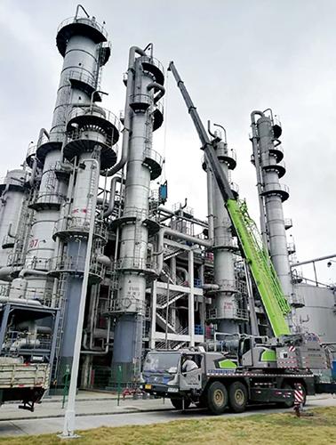 p29国投生物科技投资有限公司的下属企业广东生物能源改造生产线生产乙醇消毒剂