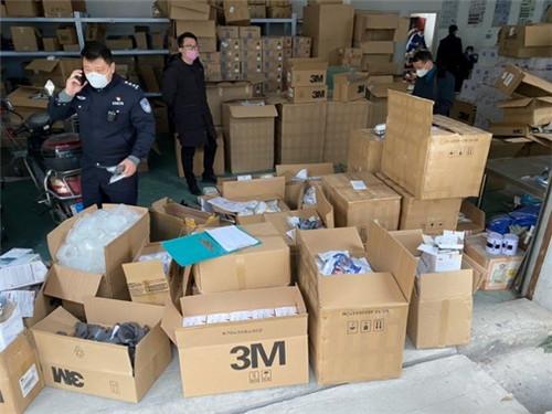 在阿里安全協助下,江蘇鎮江警方搗毀一假冒口罩倉儲窩點