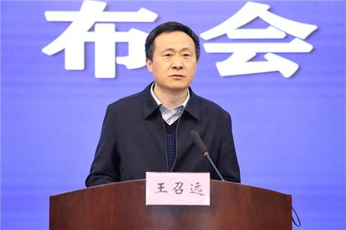 安徽省财政厅副厅长王召远。 吴晓光  摄