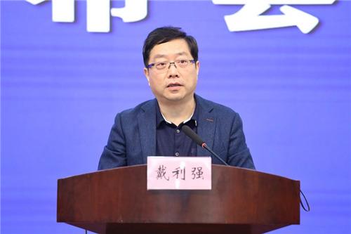 安徽省地方金融监管局副局长戴利强。 吴晓光  摄