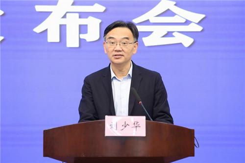 安徽省人力资源社会保障厅副厅长刘少华。  吴晓光  摄