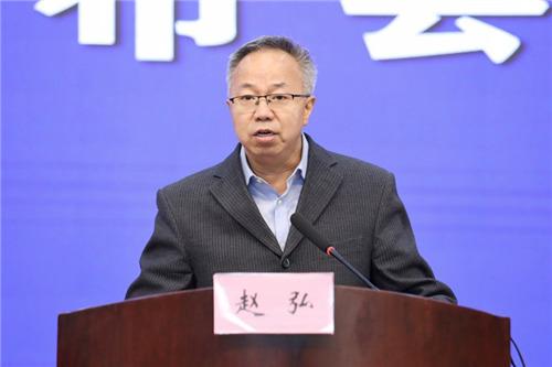 安徽省税务局党委委员、总审计师赵弘。 吴晓光  摄