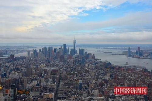 美国纽约曼哈顿岛   《中国经济周刊》记者  周琦 摄