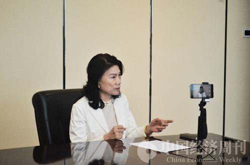 董明珠接受《中国经济周刊》专访  陈遐异