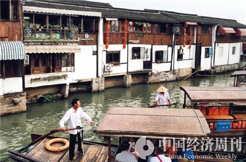 6朱家角古镇  摄影《中国经济周刊》记者 王雨菲