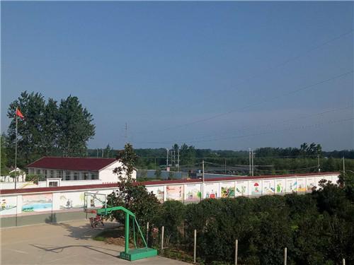 砖佛寺村产业发展——绿化苗木基地。