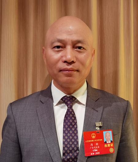 全国人大代表冯毅(图片由受访者提供)