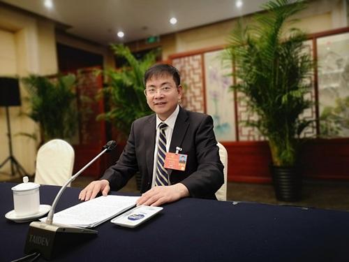 全国人大代表张红伟(图片由受访者提供)