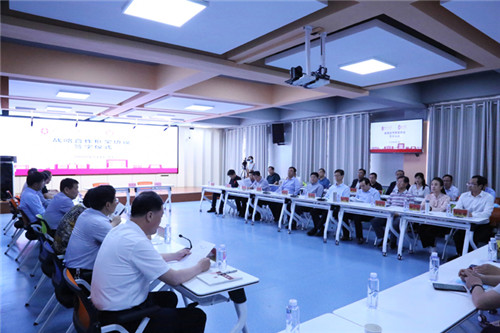 隴東學院與西北師范大學簽署戰略合作框架協議現場