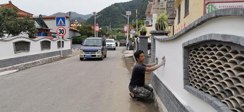 图三:刘文福担任铁门关村党支部书记的乡村一景(铁门关村村委会供图)