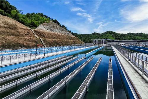 桃源水厂平流池