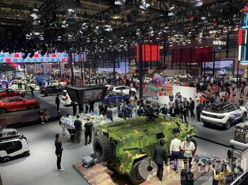 2020北京車展現場  攝影:《中國經濟周刊》記者  謝瑋