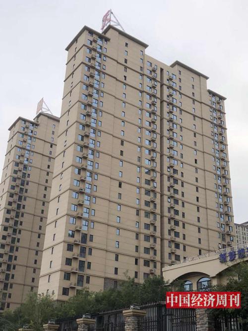 燕郊某樓盤外景  拍攝:《中國經濟周刊》記者李慧敏