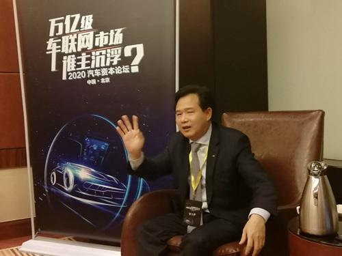 广汽新能源总经理古惠南