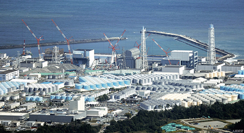 93 日本福岛第一核电站的核污水该如何处理,一直令日本十分头痛。近日,日本政府计划将福岛核污水排入大