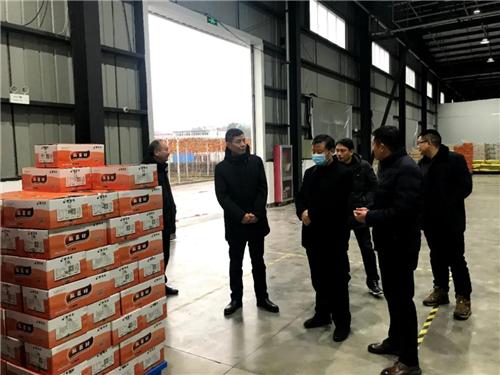 安徽省农业农村厅副厅长赫璞峰、安徽省农担公司党委书记、董事长方习利深入企业调研。