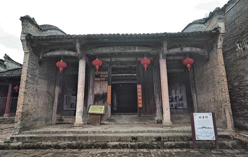 19 于都县澄江村,中央红军红三军团第八军第四师第二团驻军旧址。