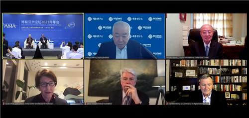 部分与会嘉宾通过网络连线参与讨论