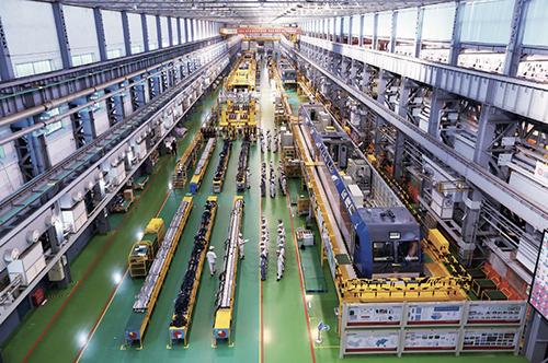 40 原株机厂联合厂房现为中车株机公司机车事业部总成车间