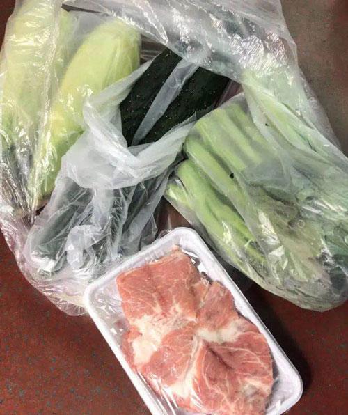 39 陳紅用APP 買的25 元物資包 圖片來源:受訪者